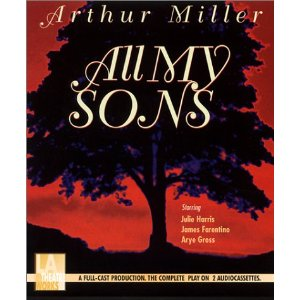 an analysis of the play all my sons by arthur miller Arthur miller's all my sons, like death of a salesman, creates modern tragedy  from  the play is set in an american town post-wwii, after the trial and.